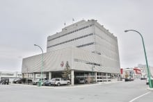 Yellowknife courthouse fall 2014