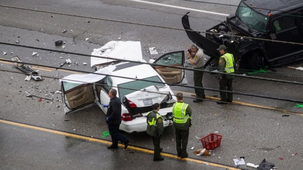 Caitlyn Jenner was involved in a four-vehicle crash on Malibu's Pacific Coast Highway last February. One woman was killed and several people were injured. Jenner was not injured.