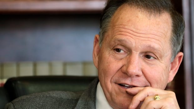 Alabama Chief Justice Roy Moore, pictured in this Oct. 24, 2012 file photo, said Wednesday the Alabama Supreme Court never lifted a March 2015 directive to probate judges to refuse marriage licenses to same-sex couples.