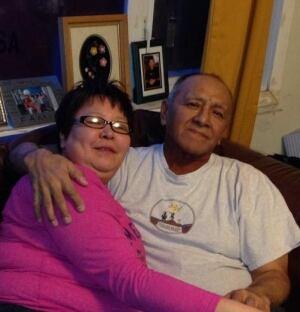Terri Lee and Patrick Kuptana