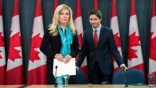 Eve Adams and Justin Trudeau