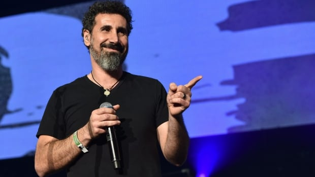Serj Tankian of System Of A Down performs at The Forum on Dec. 13, 2014, in Inglewood, California.
