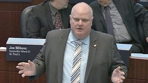 Rob Ford speaking in council on Feb. 11, 2015