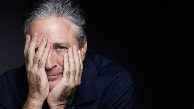 "Jon Stewart poses for a portrait in promotion of his film,""Rosewater,"" in New York. (Photo by Victoria Will/Invision/AP)"