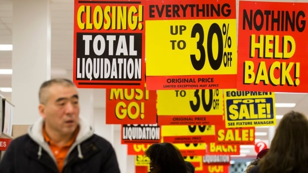 Target Canada liquidation sales offering discounts of up to 30 per cent continue to disappoint shoppers. But liquidators say they have to start slow.