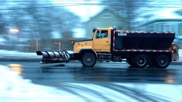 Nova Scotia's transportation department is recommending that people drive to the conditions.