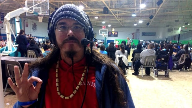 Jason Alsop is opposed to energy sponsors at the All Native Basketball Tournament