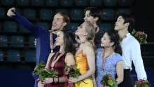 Four Continents: Best figure skating faces