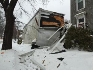 Halifax Curling Club roof collapse