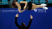Figure skaters lead dominant weekend
