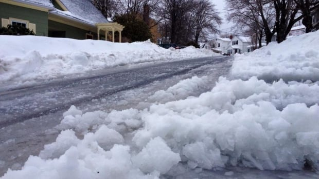 Poor road conditions in Halifax have the city asking residents to stay home over the next 24 to 36 hours. Its so cold, Nova Scotia's Department of Transportation says salt on sidewalks and roads is losing its effectiveness.
