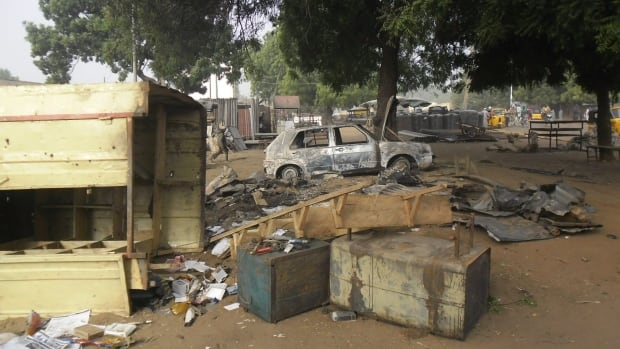 Boko Haram has turned women and girls into suicide bombers in recent months. On Jan. 12, two girls targeted this mobile phone market in Potiskum, Nigeria. The village was struck again on Sunday.
