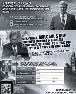 Conservative flyer