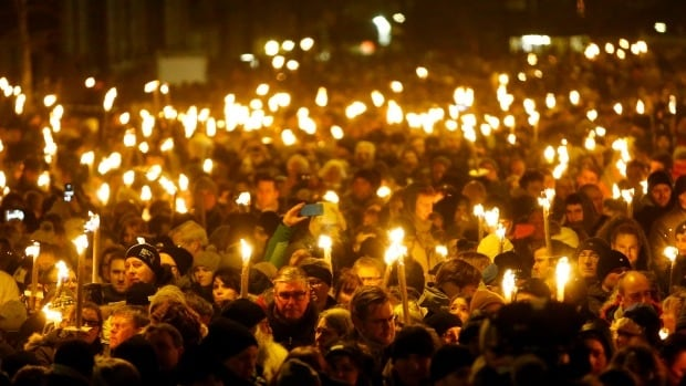 Copenhagen vigil