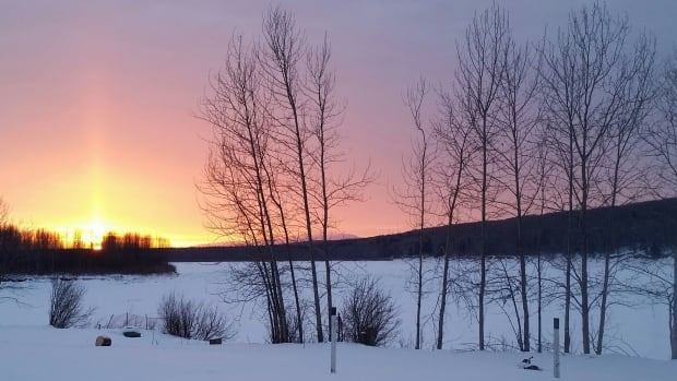 Janna Deneron sent in this photo from Fort Liard, N.W.T.