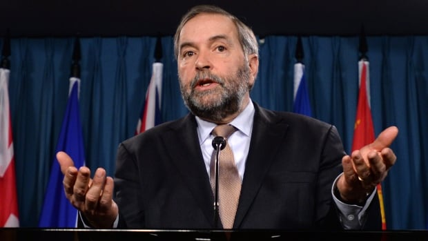 NDP Leader Tom Mulcair has criticized Bill C-51 for vague wording he says leaves the door open to spying on political opponents. Wednesday, Mulcair went further in laying out his party's opposition to many of the bill's proposals and some of the amendments he wants to see.