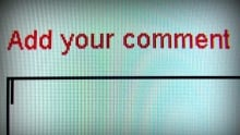 Commenting Online