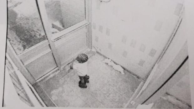 Elijah Marsh walked out into the frigid Toronto cold around 4:20 a.m. ET Thursday, wearing only a T-shirt, diaper and boots, according to this image, taken from a security camera in the building where the three-year-old was staying with family.