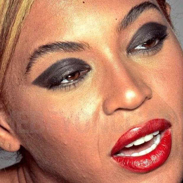 Unretouched leaked photos of Beyoncé