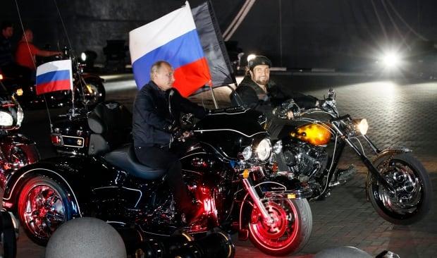 Putin and Zaldostanov