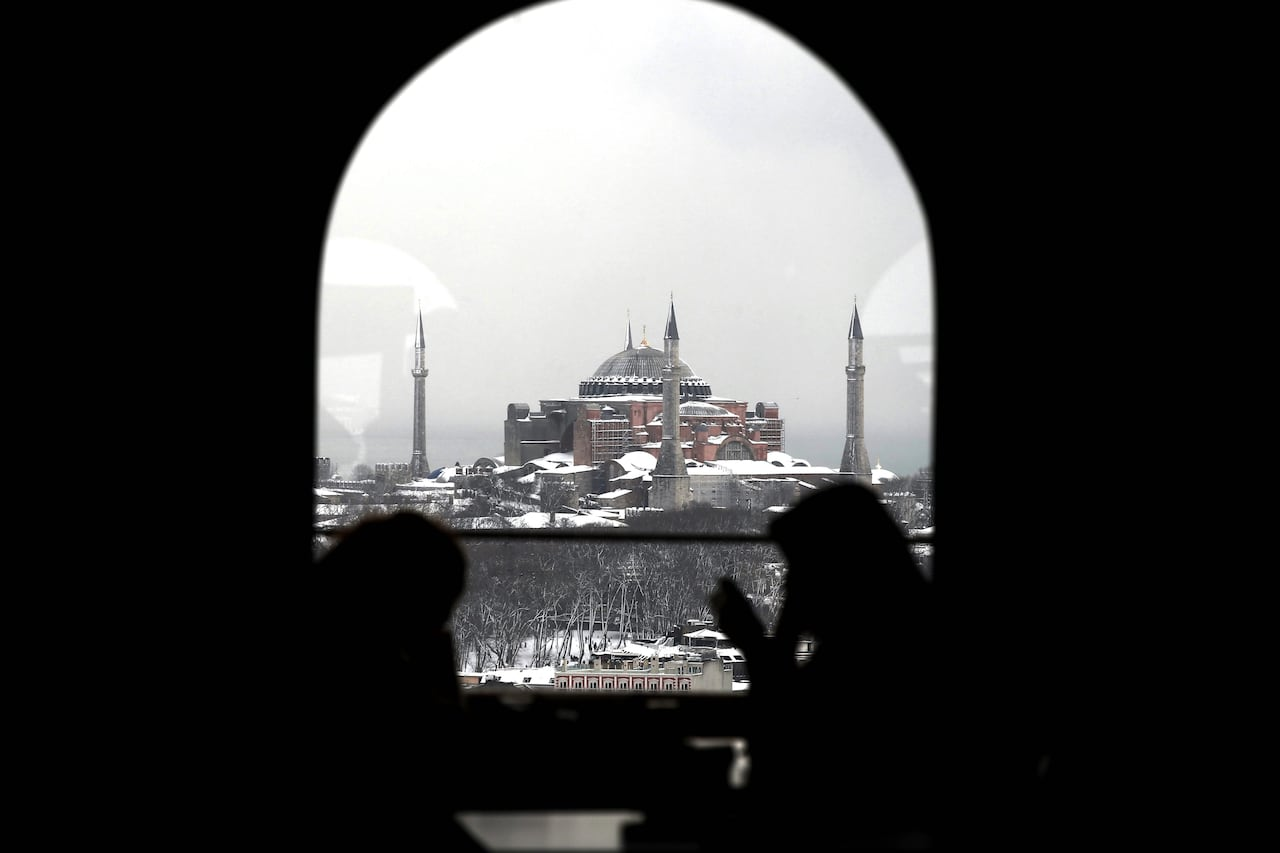 C A Turkey Istanbul in Istanbul are shrouded