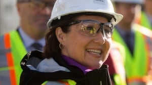 B.C. Premier Christy Clark still trying to deliver on her LNG promise