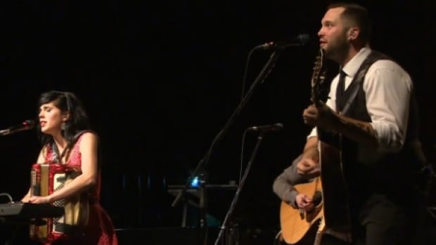 Fortunate Ones, a.k.a. Catherine Allan & Andrew James O'Brien, debuted their latest album, The Bliss, at Holy Heart Theatre in St. John's on Feb. 20.
