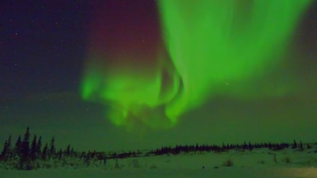 Churchill Mayor Michael Spence says northern lights are one of the town's romantic attractions.
