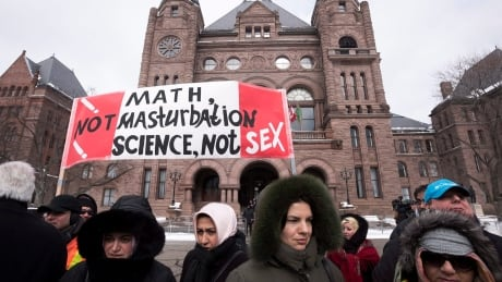 Ontario Sex Education Protest 20150224