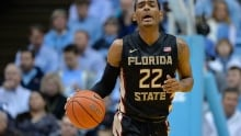 Xavier Rathan-Mayes, Florida State player, scores 30 points in 4½ minutes