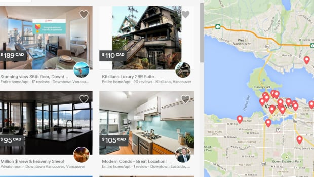 Airbnb allows people to rent out space in their homes to travellers. The website has more than one billion listings in at least 190 countries, including Canada.