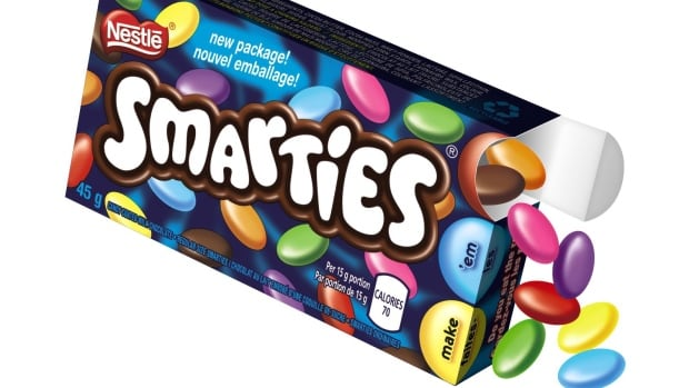 Nestle Canada has revamped the Smarties package, to help Canadians eat fewer of the candies.