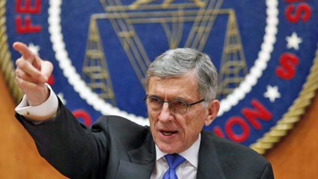 'We will protect the values of an open internet,' U.S. Federal Communications Commission chairman Tom Wheeler, shown convening an FCC net neutrality hearing in Washington, said after Thursday's landmark decision.