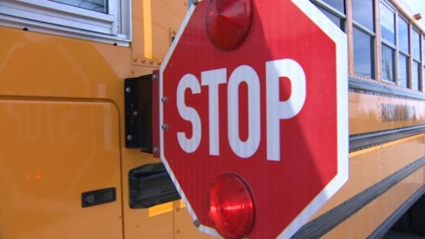 Anglophone East School District is mounting a campaign to make people aware of the dangers of passing school buses when their warning lights are flashing.
