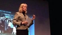 Ford CEO Dianne Craig speaking in Windsor