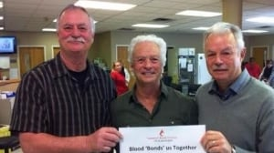 Bondy brothers donated 356 units of blood to Canadian Blood Services