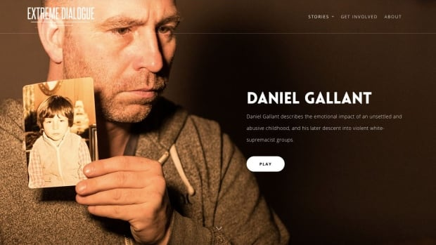 """Daniel Gallant says the Internet is used as a tool for ISIS recruiters, so he created the """"Extreme Dialogue"""" program, which offers online resources to deter young Canadians from extremist movements."""
