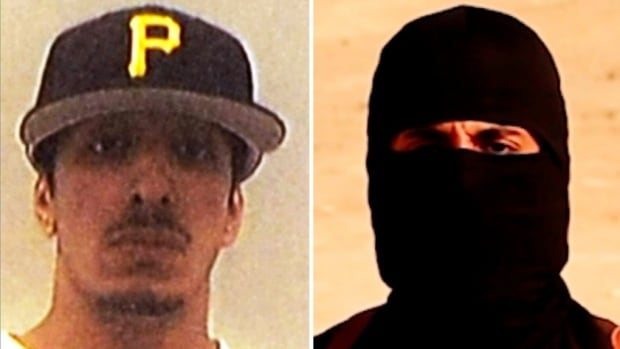 The photo of an unmasked Mohammed Emwazi is from university records, showing the man who became known as Jihadi John. Emwazi studied computers and business management from 2006-09.