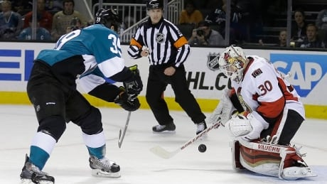 Senators Sharks Hockey