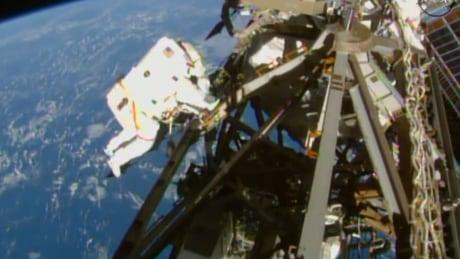 Space Station Spacewalk