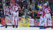 Petter Northug wins men's 50km at x-country ski worlds; Canada's Alex Harvey 5th