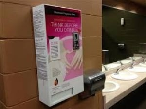 Pregnancy test dispenser