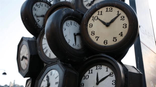 Most clocks in Canada move forward at 2 a.m. local time on Sunday, March 8.