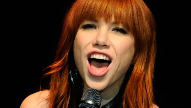 Singer Carly Rae Jepsen performs at the  UniteLIVE: The Concert to Rock Out Bullying in Las Vegas in 2013. Her 2012 hit Call Me Maybe was a top-earning Canadian song in the U.S., the U.K., Brazil, Germany and France in 2014.