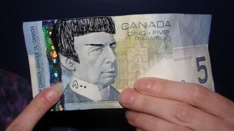 Leonard Nimoy remembered by Canadians who Spock $5 bills