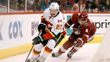 Flames Coyotes Hockey