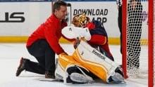 Roberto Luongo in bizarre goalie carousel against Leafs