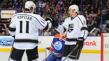 Kings End 3-game Slide With Win Over Oilers