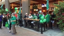 Saskatchewan Roughrider fans take over Arizona Coyotes game