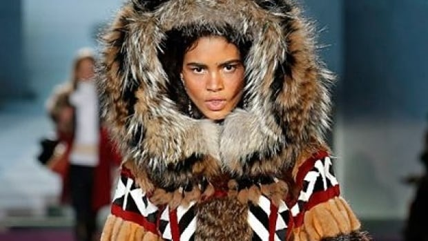 """Last March, this image appeared on Dsquared2's Facebook page with the hashtag """"dsquaw."""""""